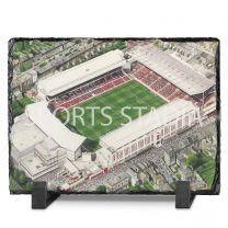 Highbury Stadium Fine Art Slate Presentation - Arsenal Football Club