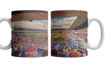 Highbury Stadium Fine Art Ceramic Mug - Arsenal Football Club