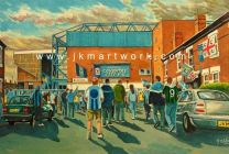 Highfield Road Stadium 'Going to the Match' Fine Art Print - Coventry City Football Club