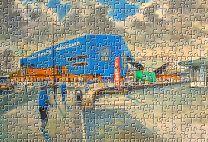 Hillsborough(Going to the Match) Stadium Fine Art Jigsaw Puzzle - Sheffield Wednesday Football Club