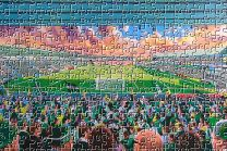 Home Park Stadium Fine Art Jigsaw Puzzle - Plymouth Argyle Football Club