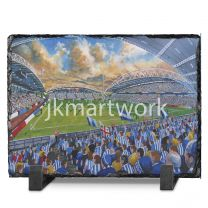 John Smith's Stadium Fine Art Slate Presentation - Huddersfield Town Football Club