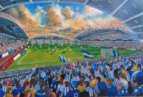John Smith's Stadium Fine Art Print - Huddersfield Town Football Club