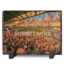 Boothferry Park Stadium Fine Art Slate Presentation - Hull City Football Club