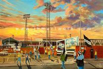 Love Street Stadium 'Going to the Match' Fine Art Print - St Mirren Football Club