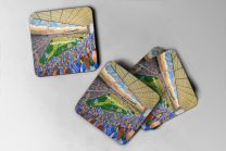 Portman Road Stadium Fine Art Coasters Set - Ipswich Town Football Club