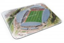 John Smith's Stadia Fine Art Mouse Mat - Huddersfield Town Football Club