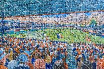 Kenilworth Road Stadium Fine Art Jigsaw Puzzle - Luton Town Football Club