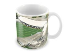 Kenilworth Road Stadia Fine Art Ceramic Mug - Luton Town Football Club