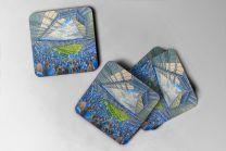 King Power Stadium Fine Art Coasters Set - Leicester City Football Club