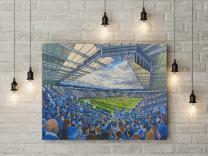 King Power Stadium Fine Art Canvas Print - Leicester City Football Club