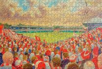 Knowsley Road Stadium Fine Art 500pc Jigsaw Puzzle - St Helens Rugby League Club