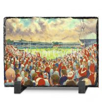 Knowlsey Road Stadium Fine Art Slate Presentation - St Helens Rugby League