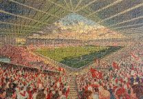 Langtree Park Stadium Fine Art 500pc Jigsaw Puzzle - St Helens Rugby League Club