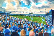 Layer Road Stadium Fine Art Print - Colchester United Football Club