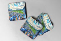 Layer Road Stadium Fine Art Coasters Set - Colchester United Football Club