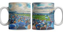 Layer Road Stadium Fine Art Ceramic Mug - Colchester United Football Club