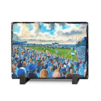 Layer Road Stadium Fine Art Slate Presentation - Colchester United Football Club