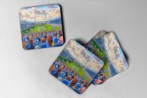 Leeds Road Stadium Fine Art Coasters Set - Huddersfield Town Football Club