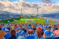 Leeds Road Stadium Fine Art Print - Huddersfield Town Football Club