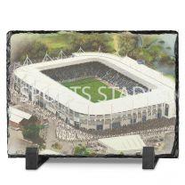 King Power Stadium Fine Art Slate Presentation - Leicester City Football Club
