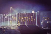 Plough Lane Stadium 'The Lights Never Went Out' Fine Art Box Canvas Print - Wimbledon Football Club