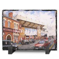 Anfield Stadium 'Going to the Match' Fine Art Slate Presentation - Liverpool Football Club