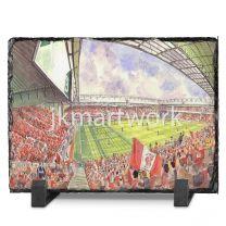 Anfield Stadium Fine Art Slate Presentation - Liverpool Football Club