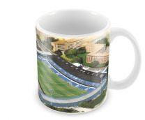 Loftus Road Stadia Fine Art Ceramic Mug - Queens Park Rangers Football Club