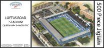 Loftus Road Stadia Fine Art Jigsaw Puzzle - Queens Park Rangers Football Club