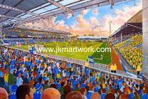 London Road Stadium Fine Art Print - Peterborough United Football Club
