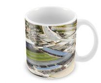 London Road Stadia Fine Art Ceramic Mug - Peterborough United Football Club
