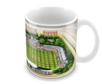 Lords Cricket Stadia Fine Art Ceramic Mug - Middlesex & England County Cricket Club