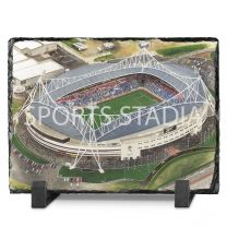 Reebok Stadium Fine Art Slate Presentation - Bolton Wanderers Football Club