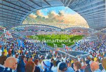 Macron Stadium Fine Art Print - Bolton Wanderers Football Club