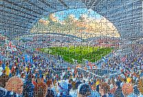 Macron Stadium Fine Art Jigsaw Puzzle - Bolton Wanderers Football Club