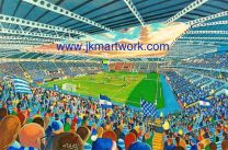 Madejski Stadium NEW Fine Art Print - Reading Football Club