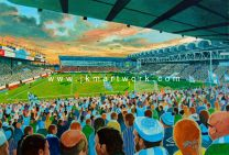 Maine Road Stadium Fine Art Print - Manchester City Football Club