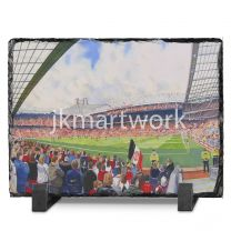 Old Trafford Stadium Fine Art Slate Presentation - Manchester United Football Club