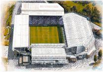 Villa Park Stadia Fine Art Print - Aston Villa Football Club