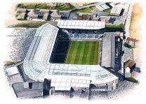 St Andrews Stadia Fine Art Print - Birmingham City Football Club