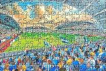 John Smith's Stadium Fine Art Jigsaw Puzzle - Huddersfield Town Football Club
