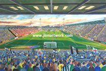 Meadow Lane Stadium Fine Art Print - Notts County Football Club