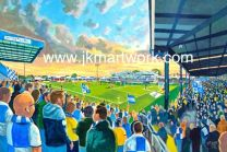 Memorial Ground Stadium Fine Art Print - Bristol Rovers Football Club