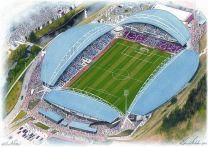John Smith's Stadia Fine Art Print - Huddersfield Town Football Club