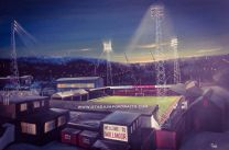 Millmoor Stadium Fine Art Box Canvas Print - Rotherham United Football Club