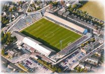 Elm Park Stadia Fine Art Print - Reading Football Club