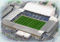 Elland Road Stadia Fine Art Print - Leeds United Football Club
