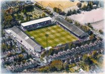 Brisbane Road Stadia Fine Art Print - Leyton Orient Football Club