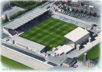 Sincil Bank Stadia Fine Art Print - Lincoln City Football Club